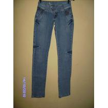 Ca049 - Calça Jeans Com Stretch Manequim 36 Lafaeti