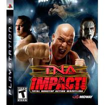 Tna Impact Ps3 Original Lacrado Wwe Ufc Original Lacrado