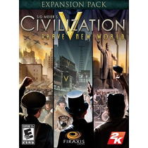 Sid Meiers Civilization V: Brave New World Pc Mac Original