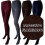 Calça Legging Térmica Flanelada Com Ou Sem Pé Várias Cores