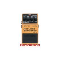 Pedal Para Guitarra Simulador De Violão Boss Ac-3