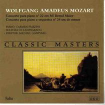 Mozart - Concerto Para Piano Classic Masters Frete Grátis
