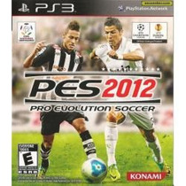Pro Evolution Soccer 2012 - Pes 2012 Jogo Playstation 3 Ps3