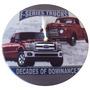 Relógio De Parede Pickups Ford