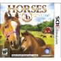 Jogo Da Ubisoft Novo Lacrado Horses 3d Para Nintendo 3ds