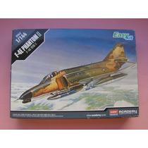 Phantom F4 Maquete Aviao Plastimodelismo Completo 1/144