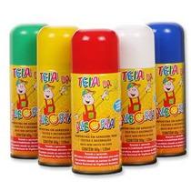 Tinta Spray Para Os Cabelos(sai Fácil Na Água)