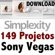 Projetos Sony Vegas Editáveis Simplexity Completo Download