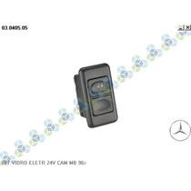 Interruptor Do Vidro Eletrico Caminhão Mercedes Benz 24v 96/