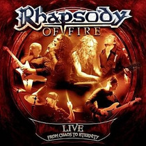 Rhapsody Of Fire - Live From Chaos To Eternity Cd Duplo