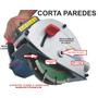 Cortador Paredes C/ Mira Laser 220 V 2 Disco E Maleta Grátis