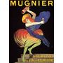 Cartaz Poster Vintage França Bebida Mulher Dançando
