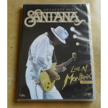 Dvd Santana - Greatest Hits - Live At Montreux 2011 - Duplo.
