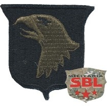 Patch 101th Airborne Divisão Paraq Us Army Exercito Militar