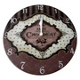 Relógio De Parede Paris Chocolat