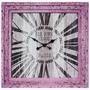 Relógio / Tela Rosa Oldtown Paris Oldway