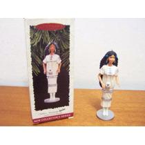 Barbie Hallmark Keepsake Ornamento Native American Na Caixa