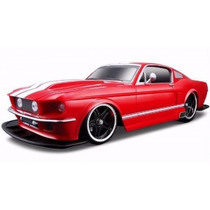 Miniatura Ford Mustang Gt 1967 1:12 Maisto Controle Remoto