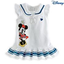 Vestido Infantil Da Minnie /marinheiro/produto Importado