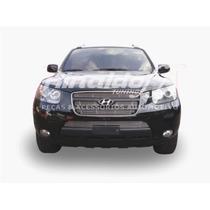 Sobregrade Santa Fe 2008 2010 Hyundai Aço Inox Frete Gratis