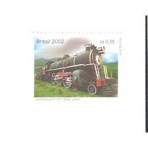 Lindo Selo Rhm C-2489 - Trens Antigos - Maria-fumaça !!!