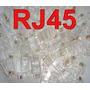 Conector Rj-45 Cat 5e Pacote 100pcs!!!