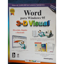 Livro Editor De Texto Word 3-d Visual - Office Microsoft