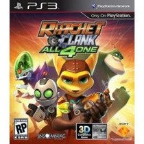 Ratcher And Clanck All 4 One - Ps3 Frete R$ 5,00