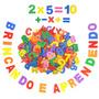 Alfabeto E Números Móvel Com 76 Peças De 5 X 5 X 0,8 Cm