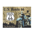 Placa Decorativa Us Route 66 Grande