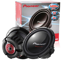 Subwoofer Pioneer Ts-w310d4 1400watts 400w Rms Bd 4+4 Ohms