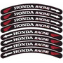 Honda Racing Friso Adesivo Aro Roda Moto Cbr 600 900 1100