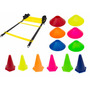 Kit Cones E Escada De Agilidade - Rope Store