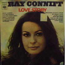 Lp.ray Conniff Love Story(frete Grátis)