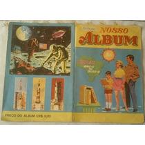 Album De Figurinhas Antigo -coleção Nosso Album -anos 70.