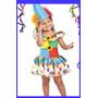 Fantasia Infantil Palhacinha - Tema De Festa Circo