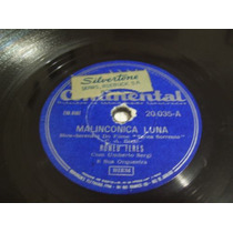 Disco Para Gramofone 78 Rpm Vários Ritmos.