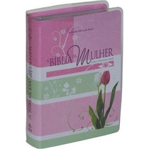 Bíblia Da Mulher Média + Bíblia Da Mulher Grande + Capa