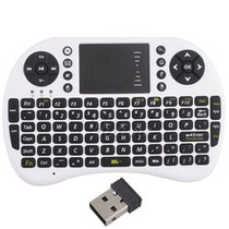Mini Teclado Sem Fio C/ Touchpad Para Pc, Not, Ps3, Xbox360
