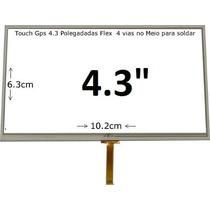 Tela Touch Screen Para Gps 4.3 Foston , Midi , Etc