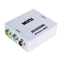 Mini Conversor Adaptador 3 Rca Video Composto Para Hdmi