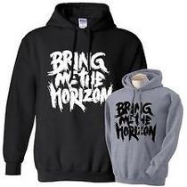 Blusa Bring Me The Horizon Canguru Com Capuz