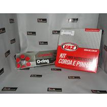 Kit Transmissão/relação Corrente C/retentor Cg150/mix/fan150