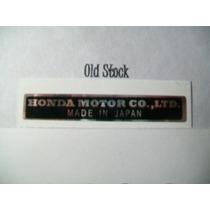 Motos Classicas, Japonesas Honda Adesivo Do Quadro
