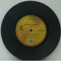 Compacto Vinil Sucessos 4 Sambas Vol 2 - 1975 - Emi Odeon