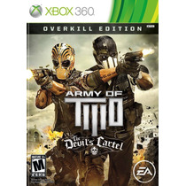 Jogo Army Of Two The Devils Cartel Overkill Edition Xbox 360