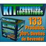 133 Infoprodutos (produtos Digitais) Com Direitos De Revenda