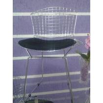 Cadeira Bertoia Cromada 1 Ano De Garantia Defeito De Fabrica