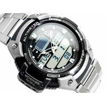 Relógio Casio Outgear Sgw-400-hd-1bv Altimetro Barometro Aço