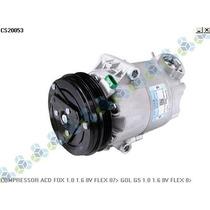 Compressor Ar Condicionado Gol G5 1.0 1.6 8v Flex 08/...